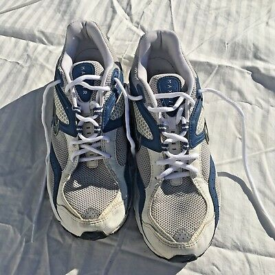 0a65ca7684af RARE VINTAGE 2003 NIKE MAX AIR - White Blue Silver - Running - Size 11 Mens