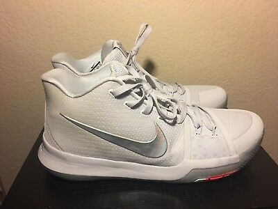 9b91bf84ab1b NIKE KYRIE 3 Time To Shine Iridescent Pure Platinum Size 13 -  90.00 ...