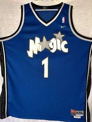 VINTAGE TRACY McGRADY  1 ORLANDO MAGIC NIKE NBA BASKETBALL JERSEY SIZE XXL 68ce2f4c8