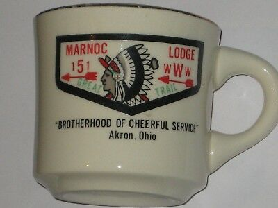 Marnoc Lodge 151-Great Trail Council Coffee Mug Older