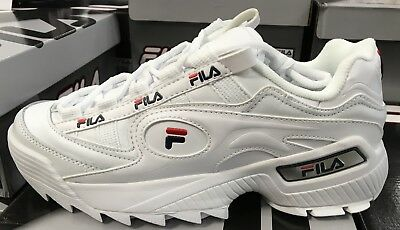 f8bb48d1 NEW MEN FILA D- Formation White Sneakers Shoes Authentic S/n ...