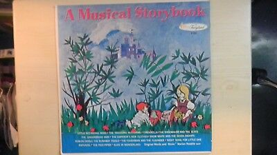 Fairyland Records A MUSICAL STORYBOOK LP 50s