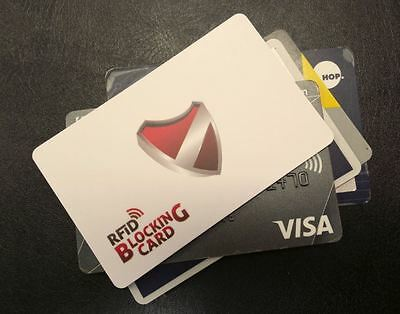 PayWave / TapnGo / PayPass RFID credit card protector - aka RFID Blocking Card