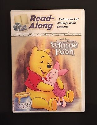 Read along The Many Adventures Of Winnie The Pooh Book, Cd, Cassette