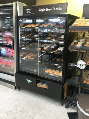 """Used 48"""" Glass Bakery Donuts Display Cabinet, Bakery, Grocery..."""