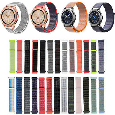 20mm Sport Woven Nylon Band for Samsung Galaxy Watch 42mm /Gear S2 Classic Strap