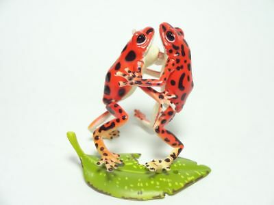 Kaiyodo Orange Poison dart Frog Frogs pvc mini figurine figure SP item RARE