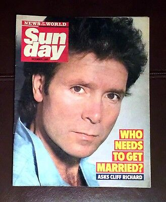 NOTW Sunday (1985) Cliff Richard, George Hamilton, Paul Nicholas, Lingerie