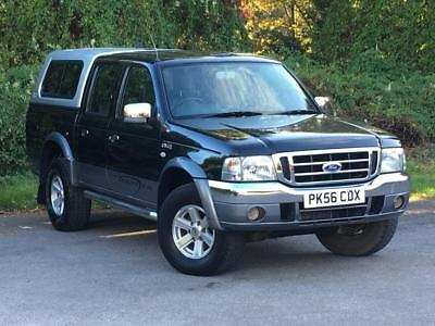 2004 FORD RANGER 2 5Tddi Xlt Thunder Double Cab Manual