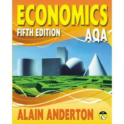 AQA A Level Economics Student Book Alain Anderton