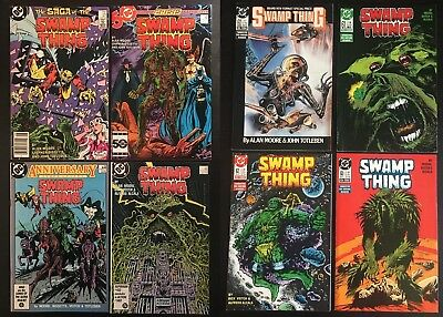 DC: Swamp Thing (1987) 27, 46, 50, 52, 60-63 High Grade, Justice League Dark! NM