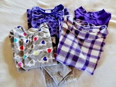Baby Toddler Girl Mix Lot 18 mo Outfits Jumper Tops Leggings Purple EUC