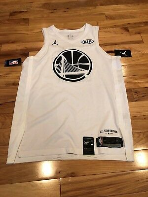 6140090e6a6 Nike Authentic 2018 All-Star Jersey Warriors White Kevin Durant Size 48  ($225)