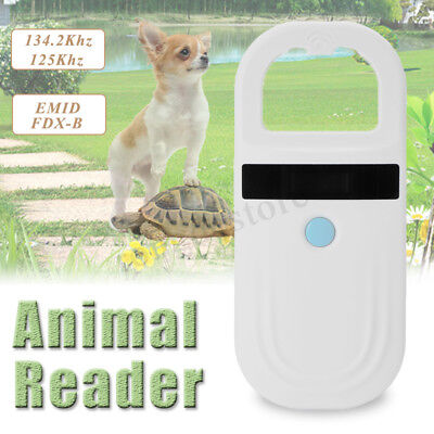 RFID ISO FDX-B EMD Animal Chip Dog Pet Reader Microchip Handheld Pet Scanner