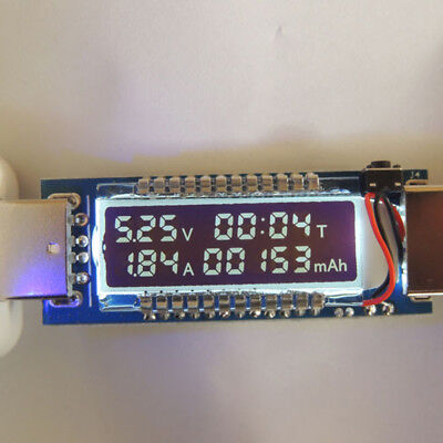 USB Charger Doctor Capacity Phone Current Voltage Detector Meter Battery Tester
