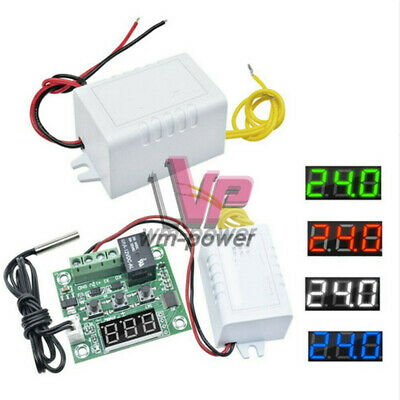 AC 110V-220V to DC 12V Power Supply Voltage W1209 -50-110°C Thermostat Module