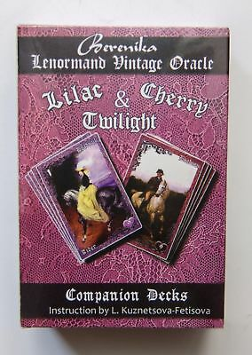 Lilac & Cherry Twilight - Lenormand Vintage Oracle Ленорман New 73 Cards