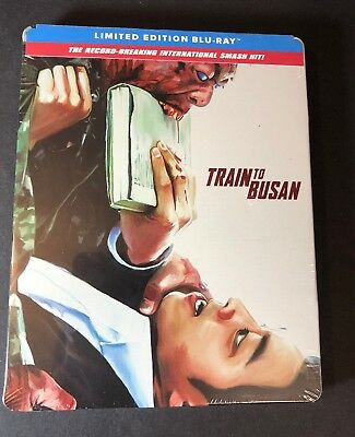 Train to Busan [ Limited Edition STEELBOOK ] (Blu-ray Disc) NEW