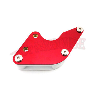 Red Swingarm Guard Chain Guide For Honda XR50 CRF50 CRF70 Chinese Pit Dirt Bike