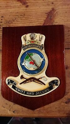 royal australian navy crest coonawarra swift and secure