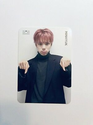 Monsta X Are You There? Official Minhyuk Preorder photo card