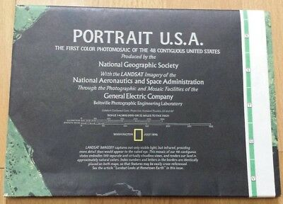 National Geographic Map Portrait U.S.A. (July, 1976).