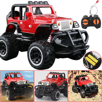 Car Ride Remote Control Kids 12v Four Way Electric Battery Toy Style Jeep RC RUK