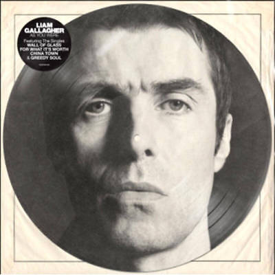 Liam Gallagher - As You Were Vinyl 2018 Limited Edition Picture Disc New Sealed