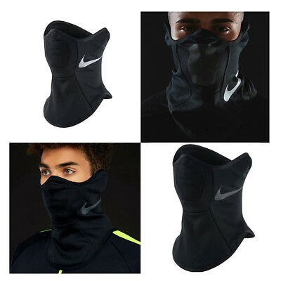 05eaedb0a0 Nike Squad Snood Neck Warmer Black Soccer Scarves Running Neck Warmer Face  Mask