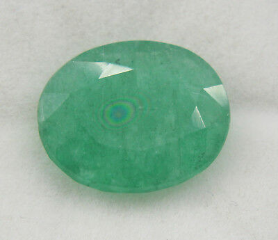 6.20 Ct Natural Emerald Vivid Green Oval Cut Panna Gemstone Ggl Certified