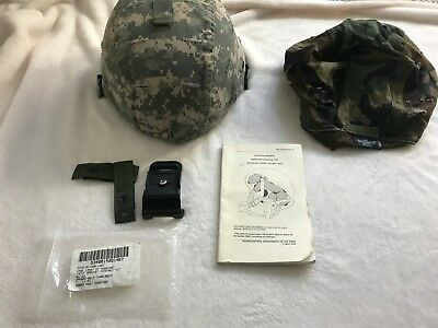 Helmet, Advanced Combat, Medium MSA with extra cover