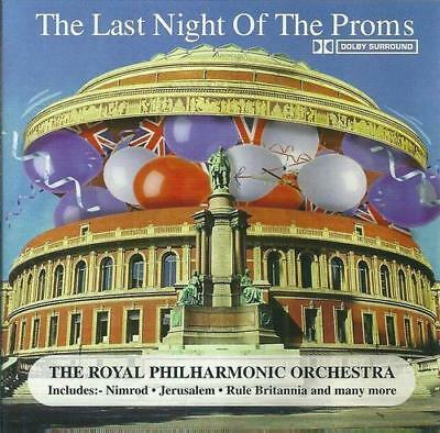 Royal Philharmonic Orchestra The Last Night Of The Proms CD Album New & Sealed