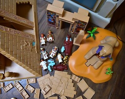 PLAYMOBIL EGYPTIAN  PARTS FIGURES used, not complete parts