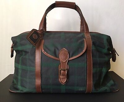 Ralph Lauren Polo Vintage Duffle Bag Rare And Very Hard To Find!
