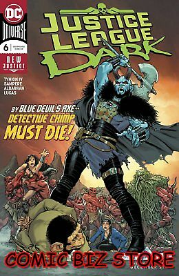Justice League Dark #6 (2018) 1St Printing Nicola Scott Cover Dc Universe