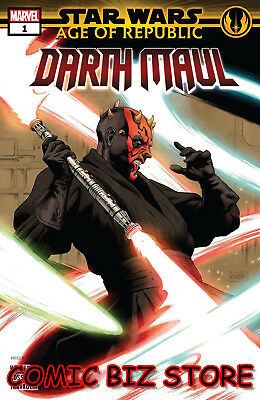 Star Wars Age Republic Darth Maul #1 1St Printing (2018) Rivera Main Cover