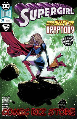 Supergirl #25 (2018) 1St Printing Main Cover Bagged & Boarded Dc Universe
