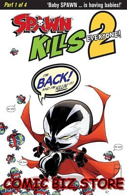 Spawn  Kills Everyone Too #1 (Of 4) (2018) 1St Printing Clean Mcfarlane Cover A