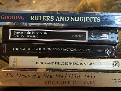 Lot Of Five History Books