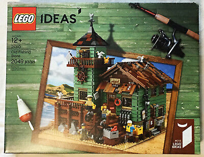 LEGO Ideas 21310 OLD FISHING STORE Building Set New * Retired * Free EXPEDITED