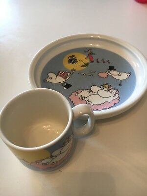 Children's dining set Flying Moomins used