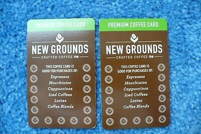2 Princess Cruises New Grounds Premium Coffee Cards, Exp 08/2019, Unpunched