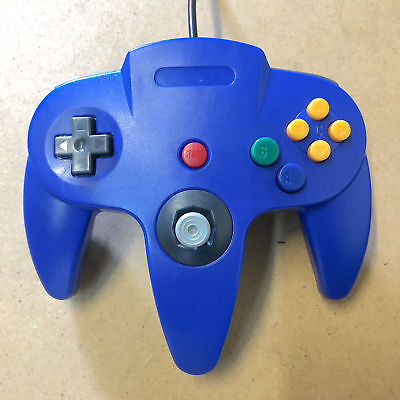 Nintendo 64 Controller Remote for N64 Blue Brand New a F01