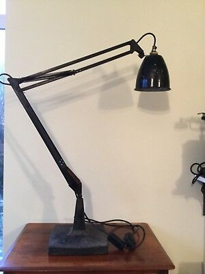 Early Anglepoise Prototype Lamp