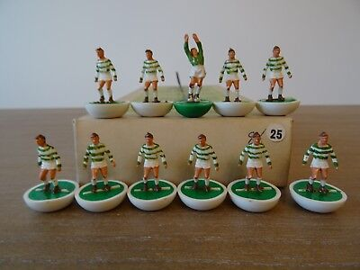 + Subbuteo Heavyweight Team CELTIC - Ref: 25 - In Referenced Box - STUNNING +