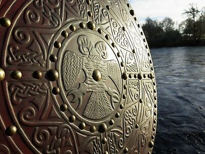 Scottish Highland Targe Shield Clan Macdonald C17th ~ Isle Of Skye ~ Joe Lindsay