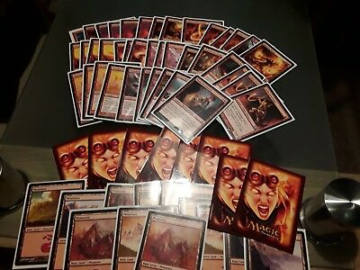 Magic The Gathering MTG Modern Burn Deck Cards Excellent Condition Amazing Set