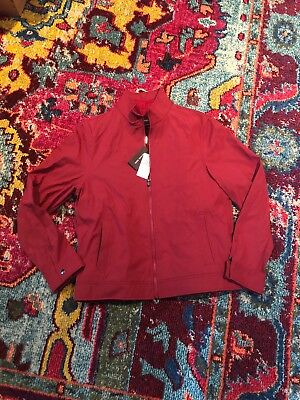 4d5db4497 PELLE PELLE EYE On The Prize Leather Jacket Ruby Red Size 50 ...