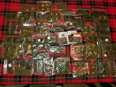 U.S. Army Military HUGE LOT Hundreds of Patches No Reserve Must See Sew On