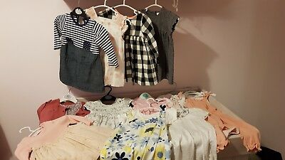Baby girl clothes 3 to 6 months bundle
